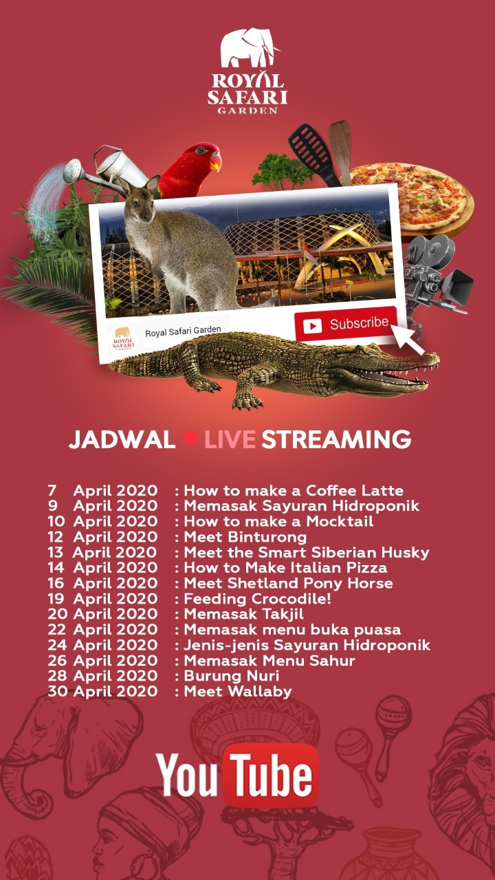 Nonton Live Streaming Royal Safari Garden, Yuk!