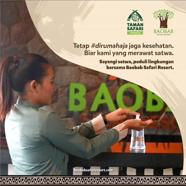 Membiasakan 'The New Normal' di Baobab Safari Resort