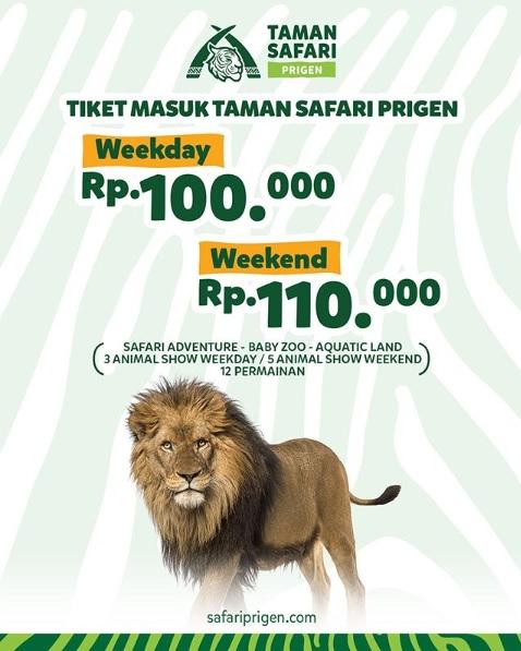 Ayo Liburan Aman dan Nyaman di Taman Safari Prigen!