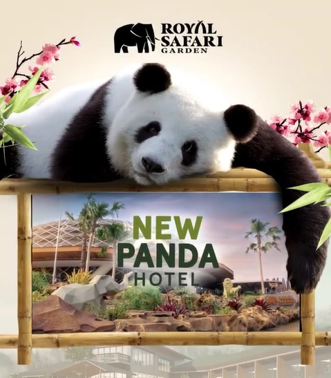 Royal Safari Garden Luncurkan Panda Hotel