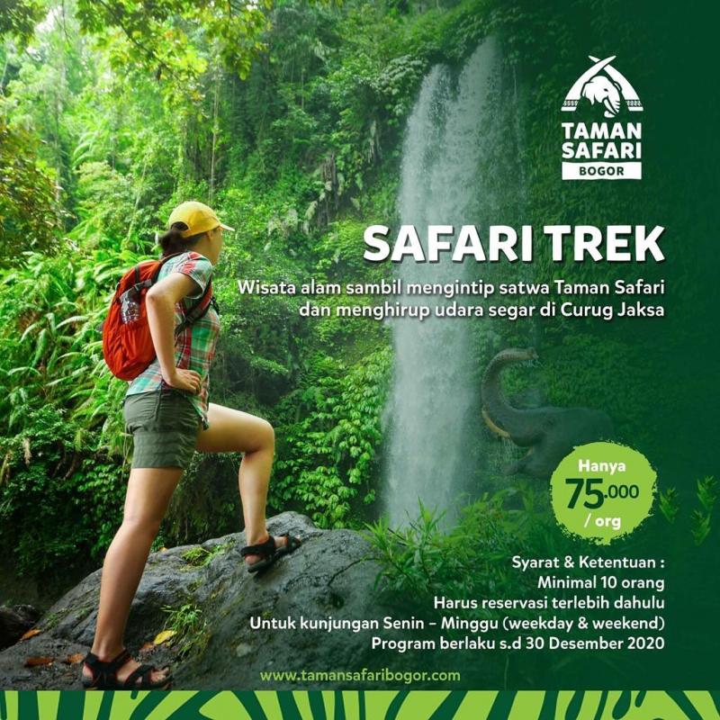 Safari Trek, Serunya Menyusuri Alam Terbuka di Taman Safari Bogor!