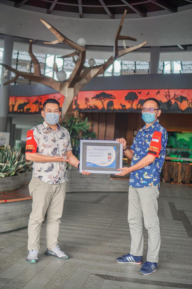 Royal Safari Garden Raih Covid-19 Secure Certificate