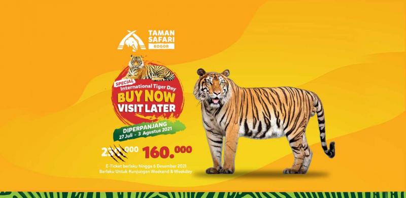 Beli Tiket Taman Safari Sekarang, Bisa Datang Kapan Saja.