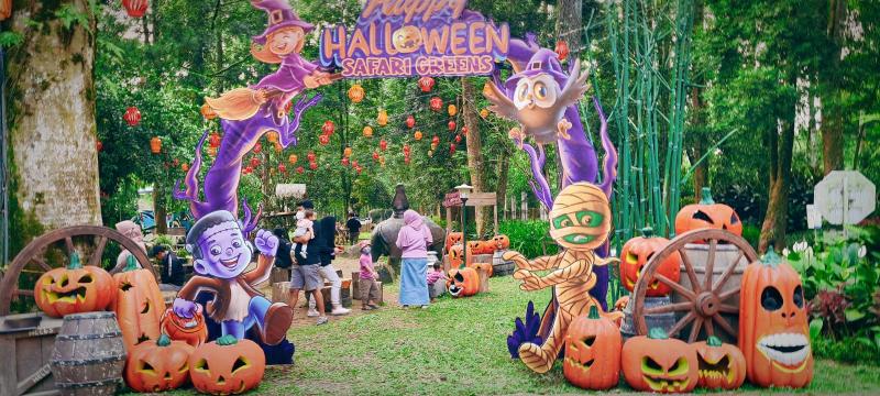 Seru-seruan Perayaan Halloween di Safari Greens Food Carnival