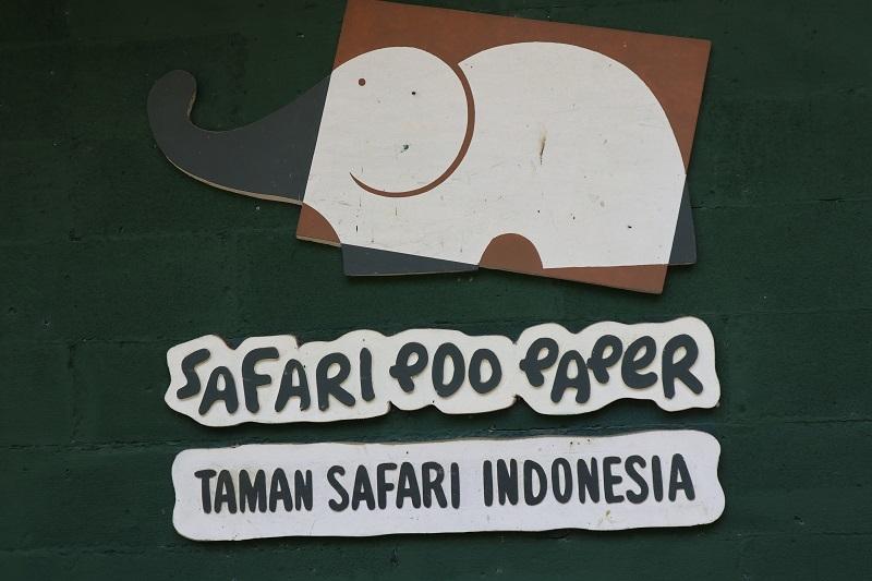 Safari Poo Paper, Pengolahan Kotoran Gajah Menjadi Kertas