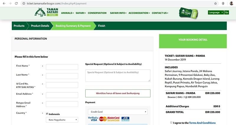 Jeli Sebelum Membeli, Ini Klarifikasi Tentang Penipuan Promosi Taman Safari Via Tiket Online