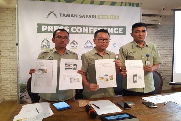Waspadai Penipuan Tiket Online Taman Safari Bogor