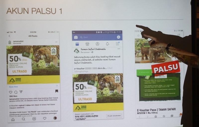 Taman Safari Indonesia Klarifikasi Penipuan Tiket E-voucher