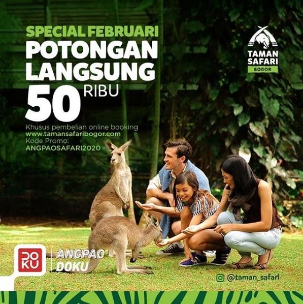 Rayakan Hari Kasih Sayang Bersama Satwa-Satwa di Taman Safari Indonesia
